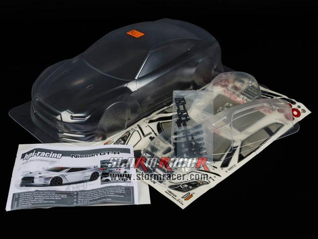 HPI 1/10 Body Nissan GT-R (R35) (200mm) #17538 003
