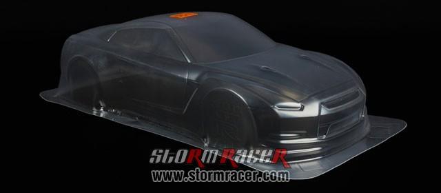 HPI 1/10 Body Nissan GT-R (R35) (200mm) #17538 005