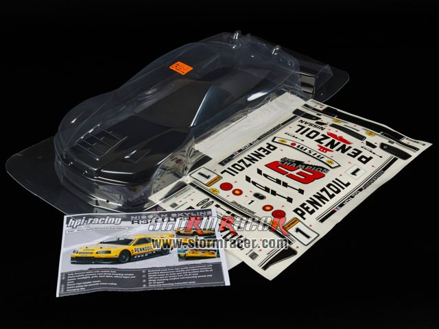HPI 1/10 Body Nissan Skyline R34 GT-R (200mm) #7467 003