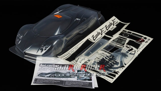 HPI 1/10 Body Pagani Zonda F (200mm) #17523 003