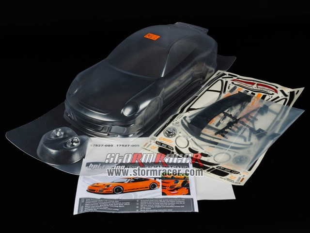 HPI 1/10 Body Porsche 911 GT3 RS (200mm) #17541 003