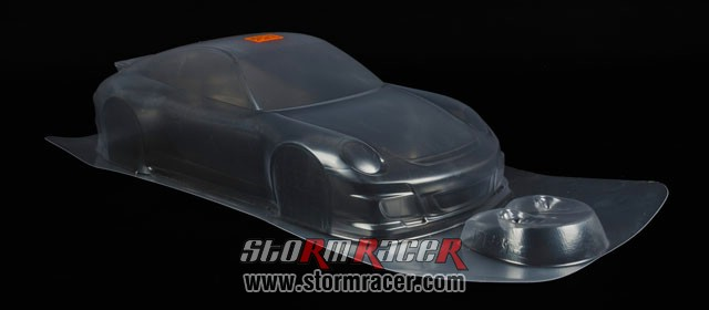 HPI 1/10 Body Porsche 911 GT3 RS (200mm) #17541 005