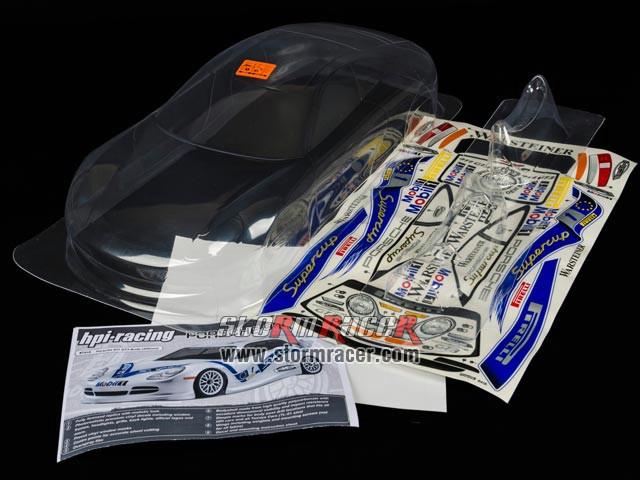HPI 1/10 Body Porsche 911 GT3 (200mm) #7418 003
