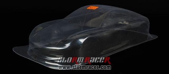 HPI 1/10 Body Porsche 911 GT3 (200mm) #7418 004