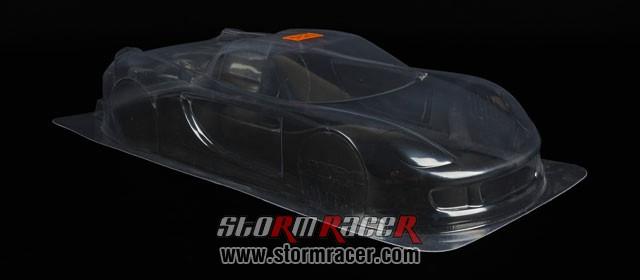 HPI 1/10 Body Porsche Carrera GT (200mm) #7487 005