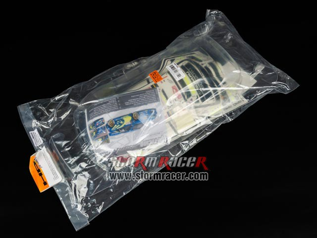 HPI 1/10 Body Subaru Impreza WRC (200mm) #17505 001