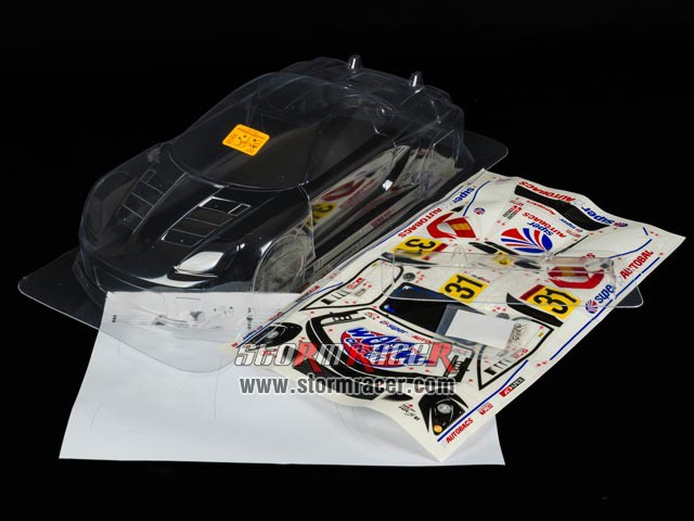 HPI 1/10 Body Toyota MR-S GT (200mm) #7466 003