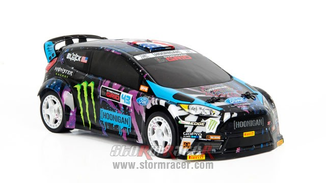 Ken Block 2016 GRC Micro RS4 1/18 #115387 003