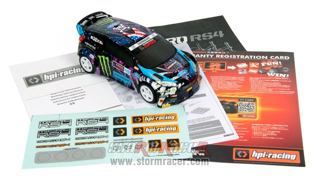 Ken Block 2016 GRC Micro RS4 1/18 #115387 014