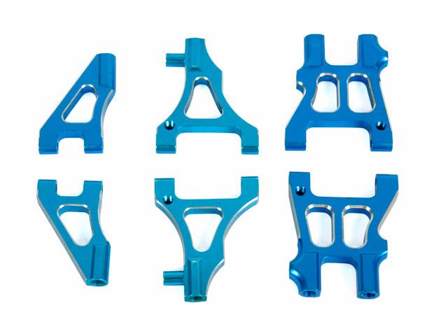 HSP Blue Alu Suspension Arm (Set) 001