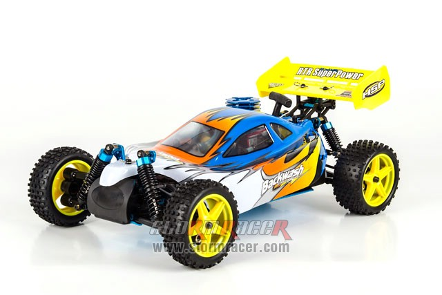 HSP Nitro Buggy 1/10 RTR 2.4G #94166 003