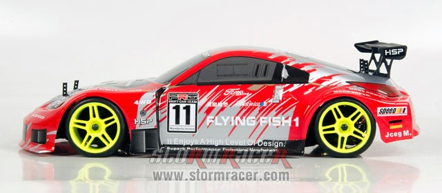 HSP Brushless Onroad 1/10 RTR 2,4G 007