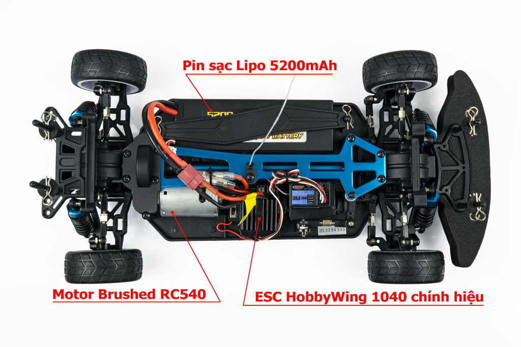 HSP Electric On road 1/10 RTR 50km/h 2,4G