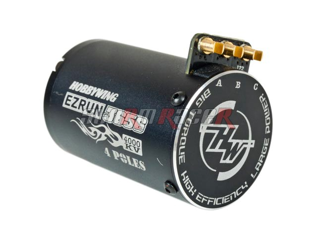Hobbywing EZRUN Motor 3656 4000KV Black sensorless