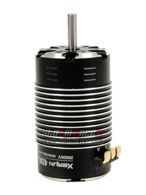 Hobbywing Brushless Motor 4268 2600KV sensored 005