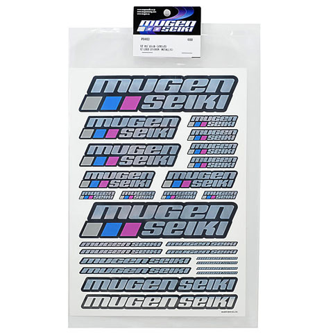 MugenSeiki 12 Logo Sticker (Metalic) 002