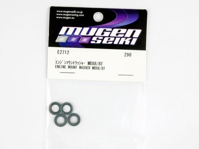 MugenSeiki Engine Mount Washer #E2712  (4P) 001