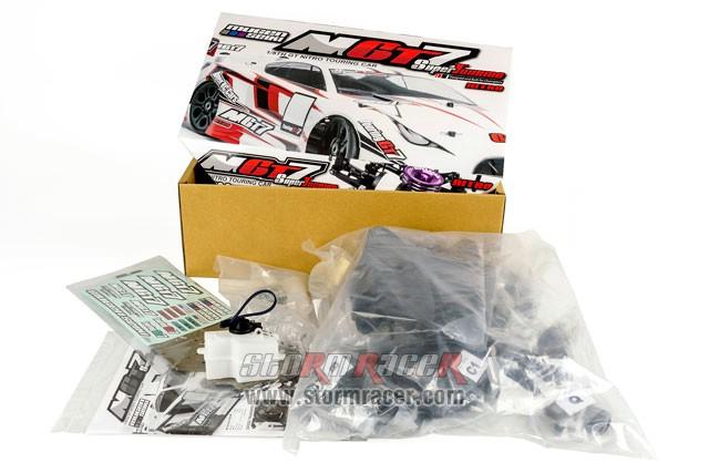 MugenSeiki Racing GT 1/8 MGT-7 Nitro (Kit 80%) 004