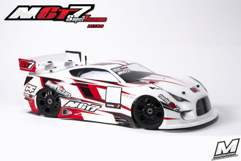 MugenSeiki Racing GT 1/8 MGT-7 Nitro (Kit 80%)