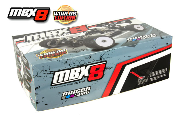 MugenSeiki Buggy 1/8 MBX-8 Worlds Edition Kit 80% 001
