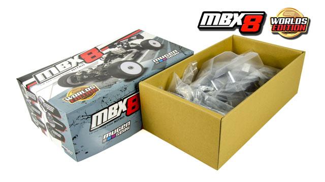 MugenSeiki Buggy 1/8 MBX-8 Worlds Edition Kit 80% 002