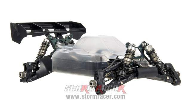 MugenSeiki Buggy 1/8 MBX-8 ECO (Kit 80% STQ) 003