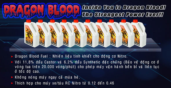 Dragon Blood Fuel 25% Nitro (2L)