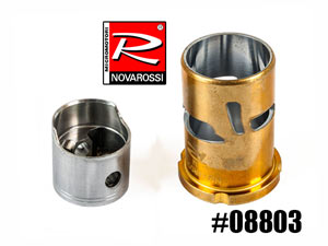 NovaRossi Piston/Sleeve 4,6cc 5ports #08803 (set)