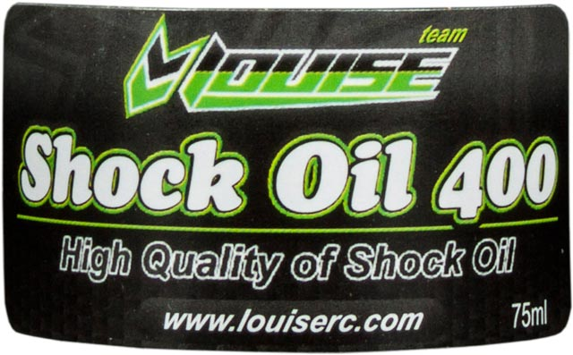 Louise Silicon Shock Oil 400 L-T207 (75ml)