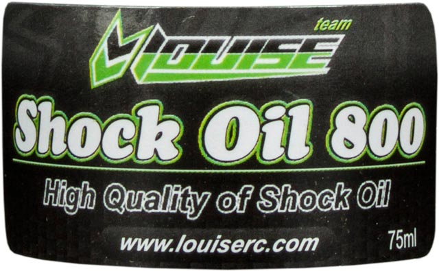 Louise Silicon Shock Oil 800 L-T213 (75ml)