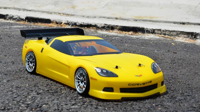 Corvette C6 1/10 Electric (HSP 2,4G RTR) 019