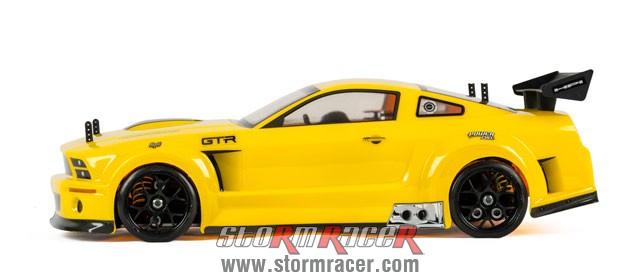 Ford Mustang GTR 1/10 Nitro OnRoad (CD-3 2,4G RTR) 009