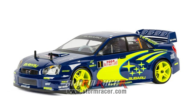 Subaru Impreza WRC 1/10 Nitro On Road (HSP 2,4G RTR) 002