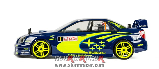Subaru Impreza WRC 1/10 Nitro On Road (HSP 2,4G RTR) 004