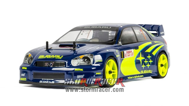 Subaru Impreza WRC 1/10 Nitro On Road (HSP 2,4G RTR) 006
