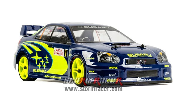Subaru Impreza WRC 1/10 Electric On Road (HSP 2,4G RTR) 002