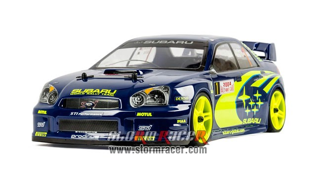Subaru Impreza WRC 1/10 Electric On Road (HSP 2,4G RTR) 004