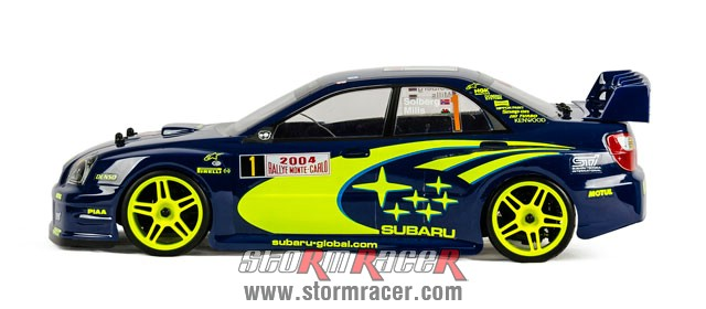 Subaru Impreza WRC 1/10 Electric On Road (HSP 2,4G RTR) 008