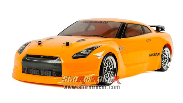 Nissan GT-R 1/10 Electric (HSP 2,4G RTR) 002