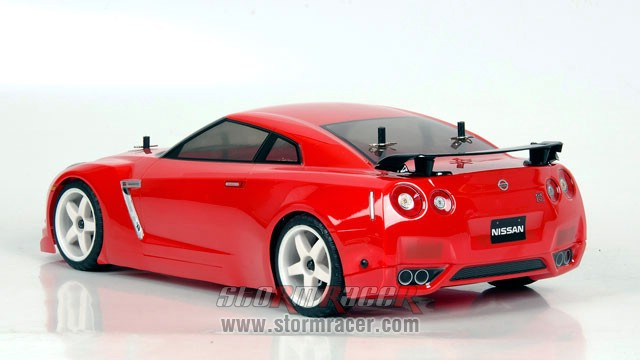 Nissan GT-R 1/10 Drift OB-4D Carbon RTR 003