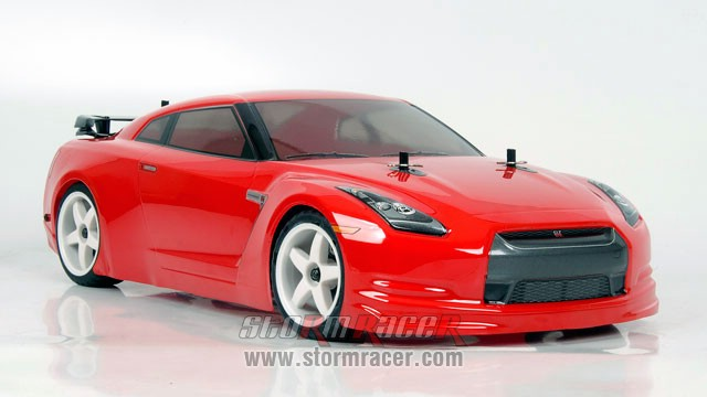 Nissan GT-R 1/10 Drift OB-4D Carbon RTR 005