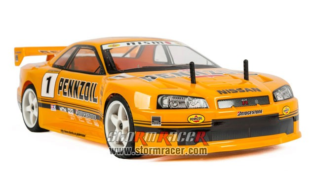 Nissan SkyLine PENNZOIL Team 1/10 Electric (HSP 2,4G RTR) 003