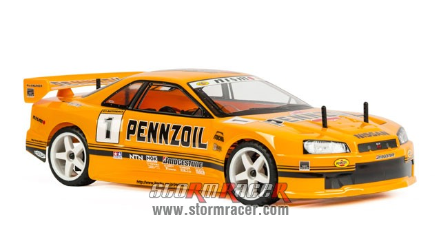 Nissan SkyLine PENNZOIL Team 1/10 Electric (HSP 2,4G RTR) 004