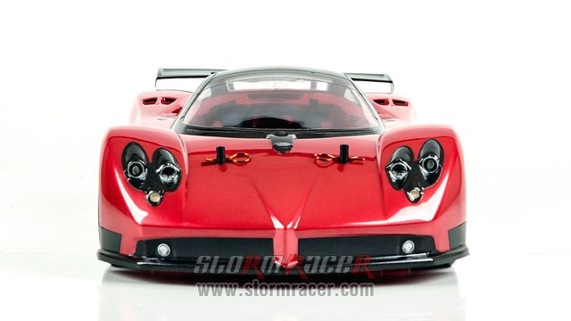 HPI 1/10 Body Pagani Zonda F (200mm) #17523 010