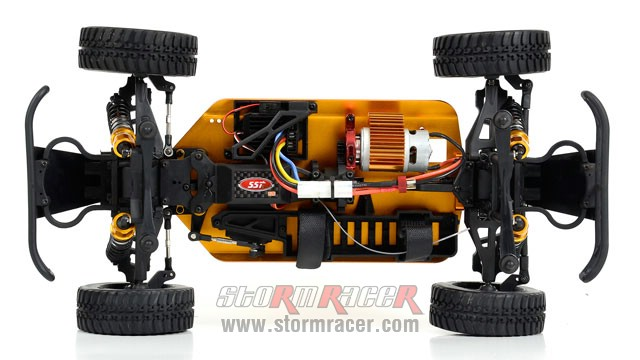 Hummer 1/10 Brushed (SST 2,4G RTR) 001