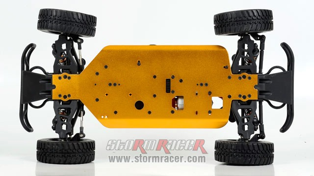 Paris Dakar Hummer 1/10 Brushed (SST 2,4G RTR) 004
