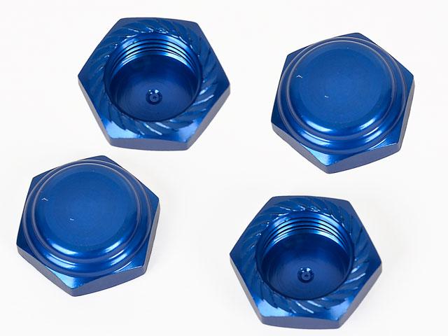 Alpha Lock Nut M12x1.25 Blue #MP05-260201-4 (4p) 002