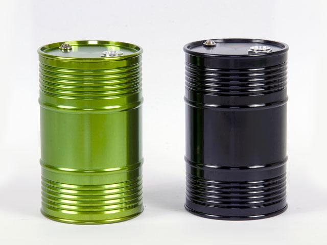 CNC Aluminum Oil Drum #FZ0001BL 008