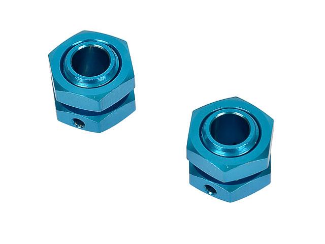Hongnor 1/8 Lock Nut Blue #X1-26-2 (2P) 001