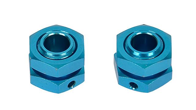 Hongnor 1/8 Lock Nut Blue #X1-26-2 (2P) 002